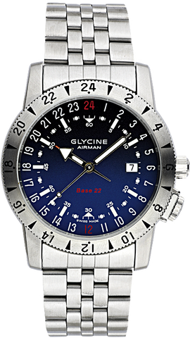Glycine - Airman Base 22 - Purist | Ref. 3887-18-66-1