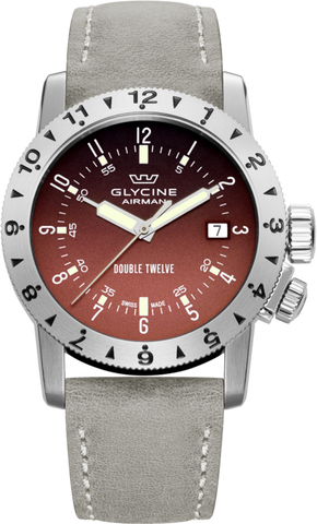 Glycine - Airman Double Twelve | Ref. 3938.16LB0B