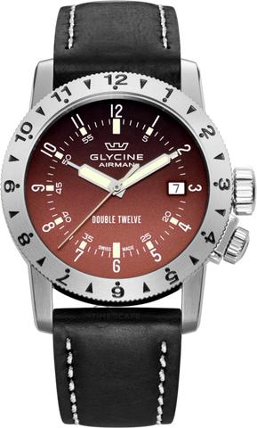 Glycine - Airman Double Twelve | Ref. 3938.16LB9B