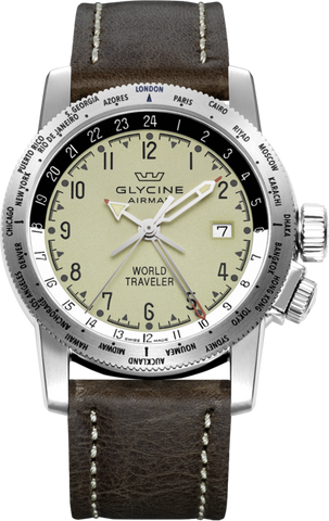 Glycine - Airman World Traveler | Ref. 3939.15 LB7BF