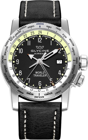 Glycine - Airman World Traveler | Ref. 3939.19 LB9B