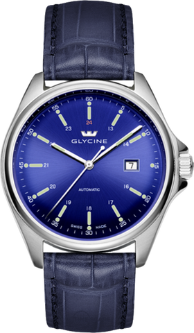 Glycine - Combat 6 - 43mm Automatic - Ref. 3890.18S-LBK8
