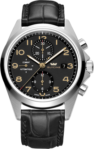 Glycine - Combat Chronograph Lux | Ref. 3924.19AT-LBK7F