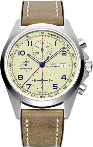 Glycine - Combat Chronograph | Ref. 3924.15AT-LB7BH