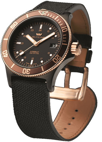 Glycine - Combat Sub - Golden Eye | Ref. 3863-399C6-TBA9
