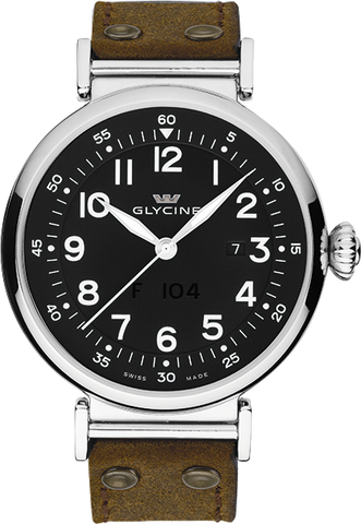 Glycine - F 104 automatic 48mm | Ref. 3932.19AT LB7R