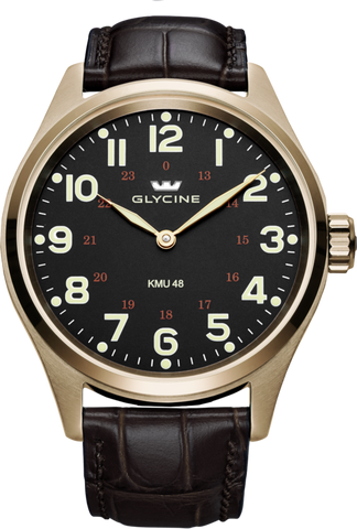 Glycine - KMU 48mm 5N - Ref. 3906.29AT LBK7D