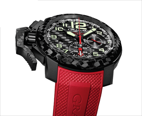 "Graham - Chronofighter Oversize ""Superlight Carbon"" 