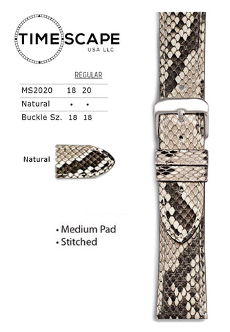 Hadley Roma - Python Watch Band - MS2020