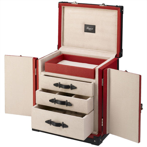 RAPPORT - Deluxe Jewelry Storage Trunk | J150
