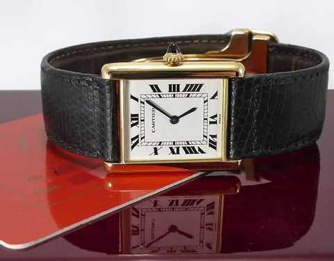 Cartier - Ladies 18K Tank Handwound