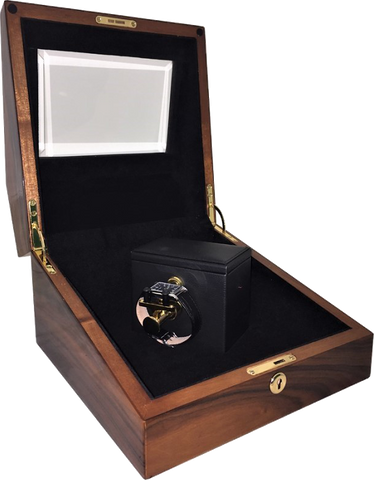 Orbita - Sempre 1 Teakwood | Programmable Watch Winder