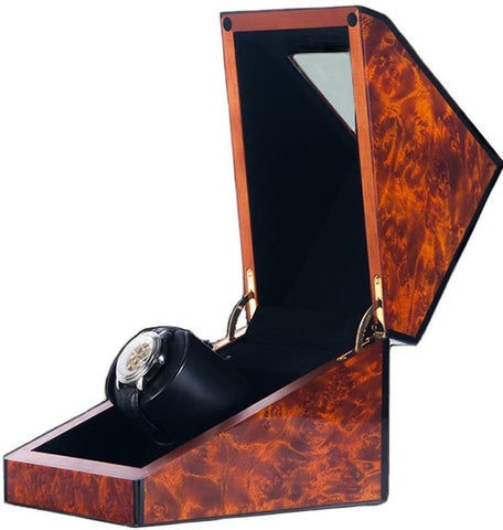 Orbita - Siena 1 Burlwood | Rotorwind Watch Winder