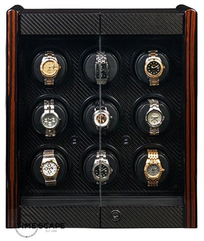 Orbita - Avanti 9 Programmable Watch Winder | Macassar