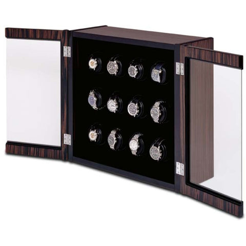 Orbita - Avanti 12 Macassar/Carbon | Programmable Watch Winder