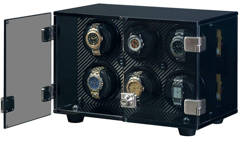 Orbita - Milano 6 Carbon Fiber | Rotorwind Watch Winder