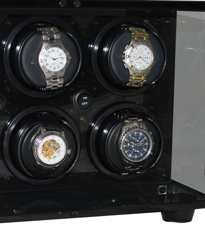 Orbita - Milano 6 Glass/Smoked Acrylic | Rotorwind Watch Winder