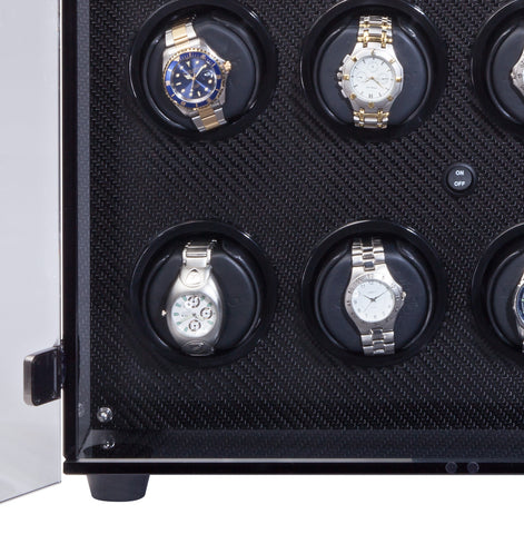 Orbita - Milano 12 Carbon Fiber | Programmable Watch Winder