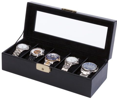 Orbita - Roma 5 Watch Case | Black | Storage Case
