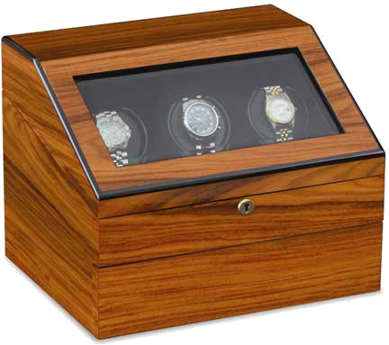 Orbita Watch Winders  - Siena 3 Executive - Teak