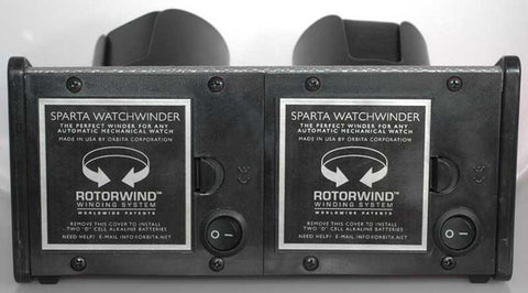 Orbita - Sparta 2 Vibrant Red | Rotorwind Watch Winder