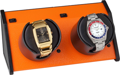 Orbita - Sparta 2 Vibrant Orange | Rotorwind Watch Winder