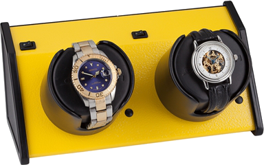 Orbita - Sparta 2 Vibrant Yellow | Rotorwind Watch Winder