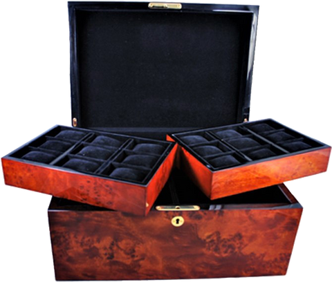 Orbita - Zurigo 30 Burl Watch Case | W08037