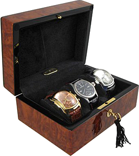 Orbita - Zurigo 3 Burl Watch Case | W80010