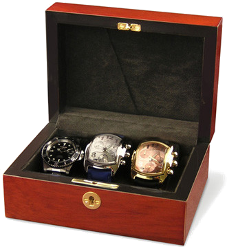 Orbita - Zurigo 3 - Teakwood | Watch Case