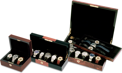 Orbita - Zurigo 12 Black/Burl Watch Case | W80020