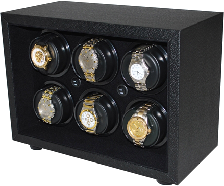 Orbita - Sparta InSafe 6 Black Vinyl | Rotorwind Watch Winder