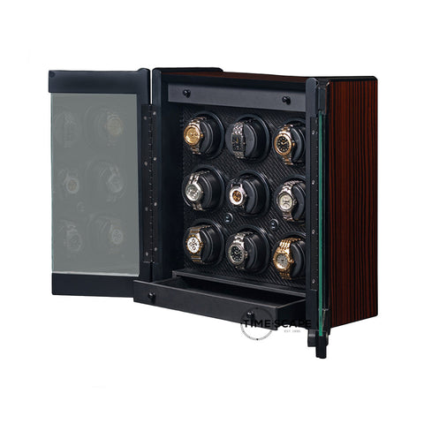 Orbita - Avanti 9 Rotorwind Watch Winder | Macassar
