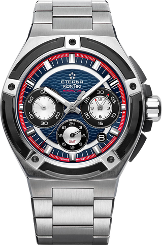 Eterna - Royal Kontiki Chronograph GMT | 7760-42-80-0280