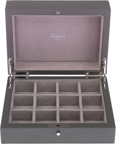 RAPPORT - Berkeley Cufflink Storage Box 12 | D112