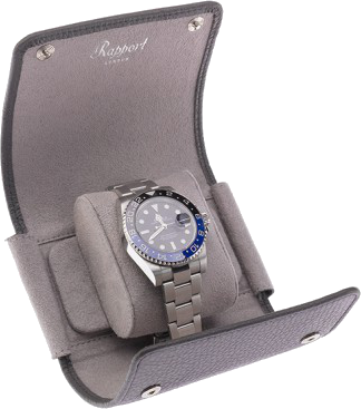 Rapport - Berkely Single Watch Roll - Grey Leather | D192