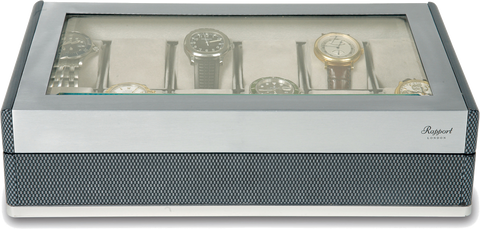 Rapport - 12 Watch Box - Carbon Fiber | B269