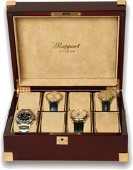 Rapport Mahogany Eight Watch Box