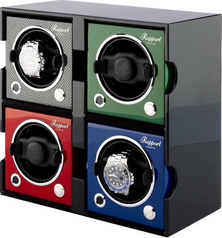 RAPPORT - Evolution Quad Watch Winder Case | FRO44