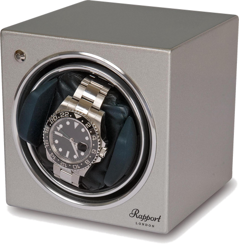 Rapport - Evolution Single - Silver Watch Winder