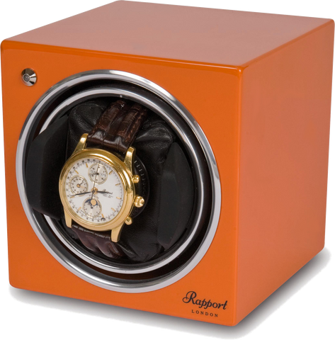 Rapport - Evolution Single - Orange Watch Winder