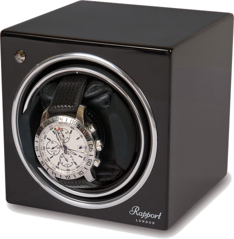 Rapport - Evolution Single - Black Watch Winder