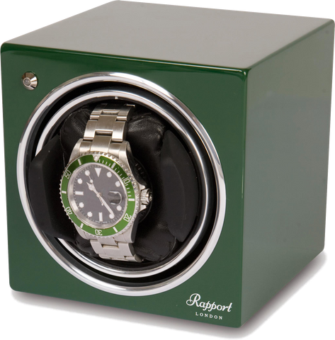 Rapport - Evolution Single - Green Watch Winder