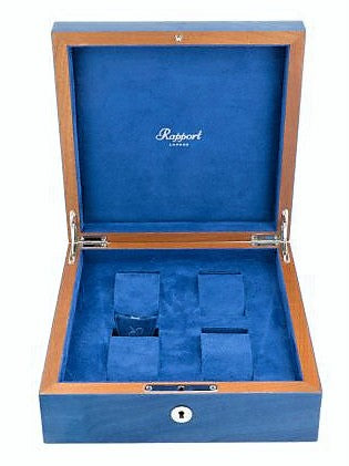 Rapport - Heritage Cobalt Watch Box 4 | L400
