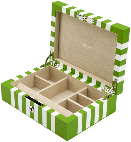 Rapport - Berkeley Jewelry Box - Lime Green | J140