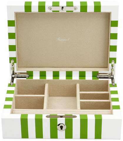 Rapport - Berkeley Jewelry Box - White | J141