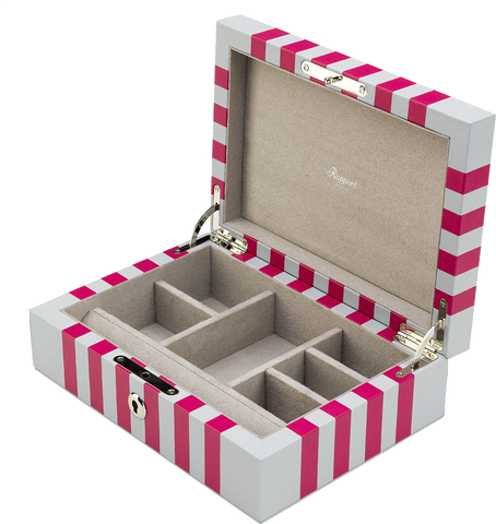 Rapport - Berkeley Jewelry Box - White | J142