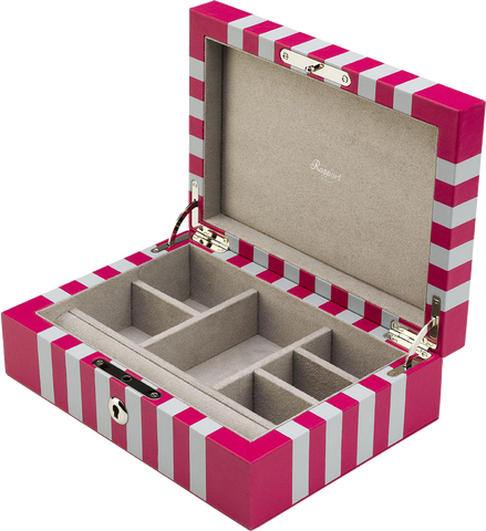 Rapport - Berkeley Jewelry Box - Fuchsia | J143