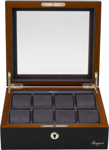 Rapport - Heritage Ebony Watch Box 8 | L418