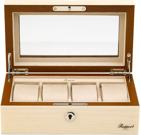 Rapport - Optic Natural Watch Box 4 | L424